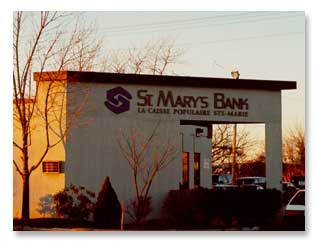 St. Mary's Bank 1985