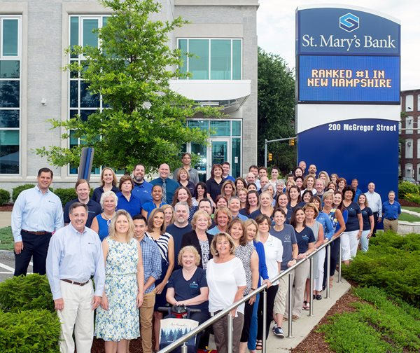 Forbes Magazine Ranks St. Mary's Bank #1 Credit Union in New Hampshire
