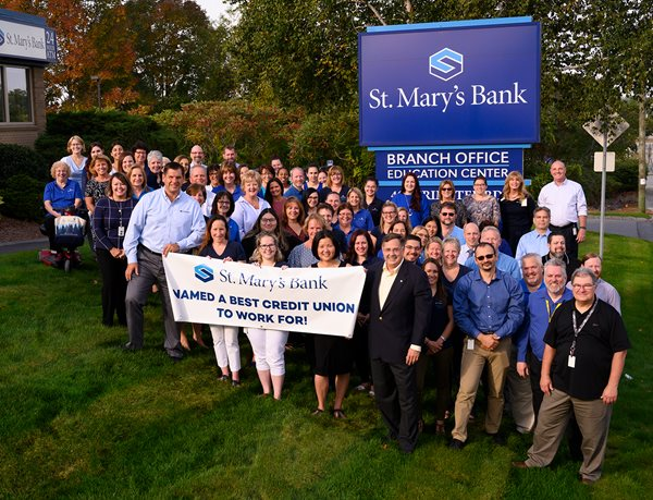 St. Mary's Bank Employee Picture